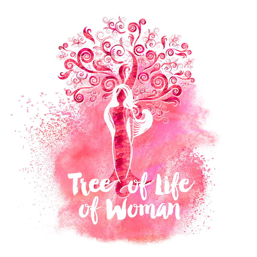 Tree Of Life Of Woman